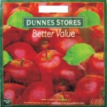 0588 Пакет с вырубной ручкой яблоки 45х45+12=70  (50/400)