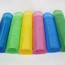 0494 Пакет фасов. 30х40 12 мкр в рулон зелен/голуб/фиолет/желт Им (5рул/50рул)