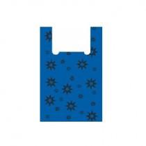 0469 Пакет майка звезда синяя,черная В 38х60=15 (50/2000)  (Копия)