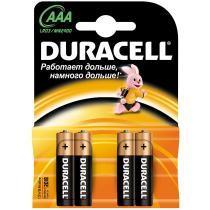 0445 Батарейки пальчиковые алкалиновые Дюрасел (4/80)