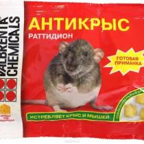 """1140 Отрава для мышей """"Антикрыс"""" брикеты 200гр в ассорт. (1/30)"""