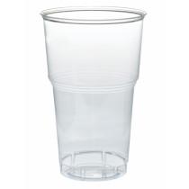 """0933 Набор посуды """"По-пивку"""" (стакан 500 мл прозрачный, 6 шт.) (1/75)"""