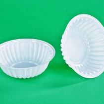 0414 Тарелка креманка Ромашка Д115 250 мл(100/2400)