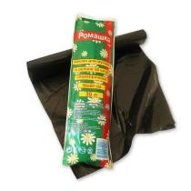0048 Пакет мусорный 30 л 30 шт Ромашка 15 мкр (1/70)