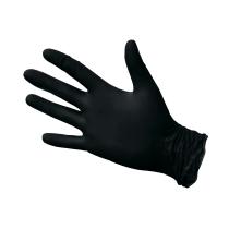 0426 Перчатки нитриловые ЧЕРНЫЕ S (50/1000)