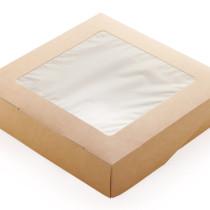 Контейнер на вынос ECOTABOX 200х40х200 1500мл (50/350)