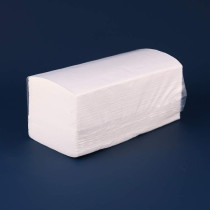 0379 Бумажные полотенца эконом V-лож 1 сл. 200л (1/15)