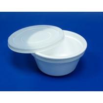 1084 Миска суповая 500 мл ТК ВСП+ крышка (96/576)