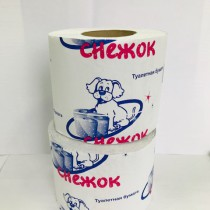 0465 Туалетная бумага Снежок СО ВТУЛ. 48 м (1/36)