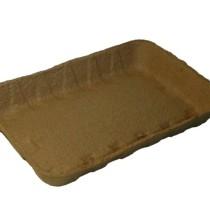 Лоток бумажный коричневый Крафт 240*160*37(180 шт)