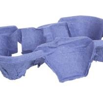 0624 Держатель для 2-х стаканов картонный фиолетовый (10/150)