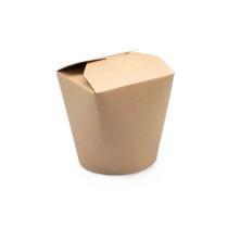 0796 Коробка для лапши 500 мл крафт (40/500)