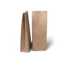 1378 Пакет крафт бумажный без ручки 120х80х330 (50/350)
