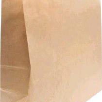 1380 Пакет крафт бумажный без ручки 260х150х340 (50/500) (260х140х350)