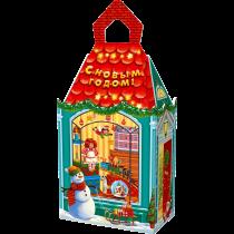 1116 Подар упак НГ 900г Замок малый Лавка игрушек (1/250)