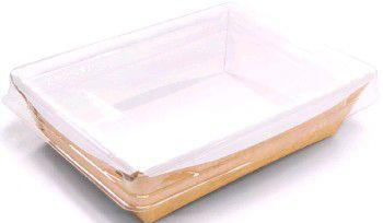 1432 Упаковка ECO OpSalad 500мл с прозр. крышкой 160*120*45 (300/300)