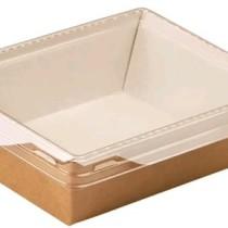 1464 Упаковка Eco OpSalad 450 мл с прозр. кр. 145*120*55 (50/400)