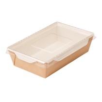 0672 Упаковка ECO OpSalad 800мл с прозр. кр. 207х127х55 (50/200)