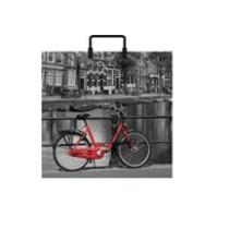 1436 Пакет пласт. руч. 38х35+6=95 Амстердам РП (10/100)