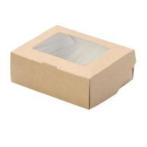 0613 Упаковка Ланчбокс 1500 мл ECO TABOX 200*200*45 (25/125)